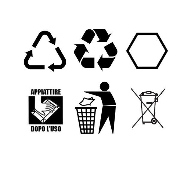 Conosci i 6 simboli della differenziata?