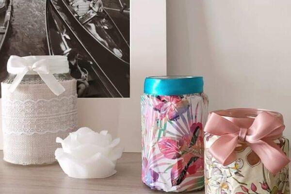 4 modi per riciclare barattoli in vetro